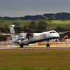 G-FLBC<br /> Bombardier DHC-8-402<br /> FlyBe<br /> Edinburgh Airport <br /> 17th August 2011