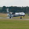 G-ECOJ<br /> Bombardier DHC-8-402<br /> FlyBe<br /> Edinburgh Airport <br /> 24th July 2010