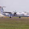 G-JECG<br /> Bombardier DHC-8 402<br /> FlyBe<br /> Edinburgh Airport <br /> 30th June 2012