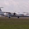 G-FLBA<br /> Bombardier DHC-8 402Q <br /> FlyBe<br /> Edinburgh Airport <br /> 30th June 2012