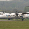 G-ECOO<br /> Bombardier DHC-8-402 <br /> FlyBe<br /> Edinburgh Airport<br /> 27th April 2014