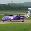G-FLBC<br /> Bombardier DHC-8-402<br /> FlyBe<br /> Edinburgh Airport<br /> 13th June 2015