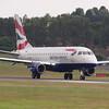 G-LCYE<br /> Embraer  170-100 STD<br /> British Airways<br /> Edinburgh Airport<br /> 16th August 2013