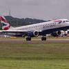 G-LCYK<br /> British Airways <br /> Embraer 190-100LR<br /> Edinburgh Airport <br /> 30th June 2012