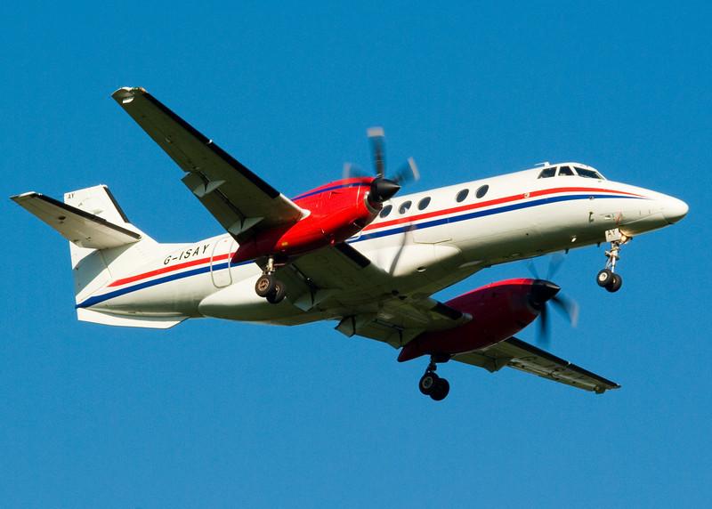 G-ISAY<br /> Jetstream 4100 <br /> Highlands Airways<br /> Glasgow Airport<br /> 23rd June 2009