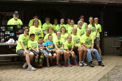 Camp Fredrick 5K 2015 and Kamper