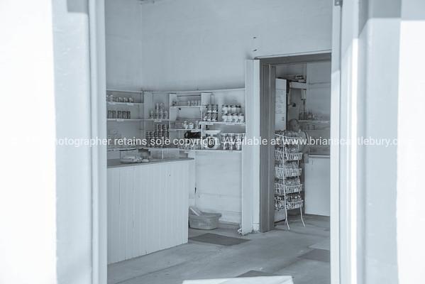Old-fashioned corner store