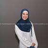 One woman portrait, Muslim