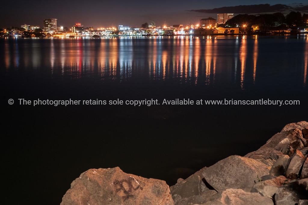 "Tauranga CBD Lights. Harbour night scenes See;  <a href=""http://www.blurb.com/b/3811392-tauranga"">http://www.blurb.com/b/3811392-tauranga</a> mount maunganui landscape photography, Tauranga Photos;"