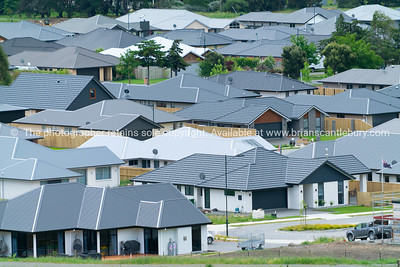 New residential neighborhood