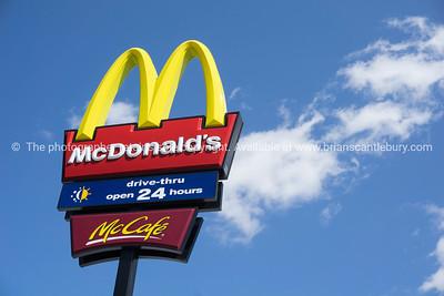 McDonalds signage