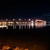 "Tauranga Harbour Bridge under night sky.<br /> Lights reflected in the calm harbour water. See;  <a href=""http://www.blurb.com/b/3811392-tauranga"">http://www.blurb.com/b/3811392-tauranga</a> mount maunganui landscape photography, Tauranga Photos;"