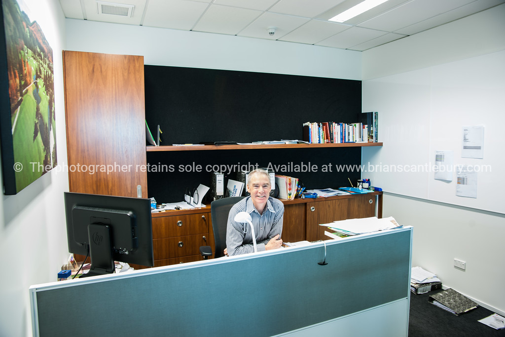 Interior and people in one of Tauranga's newest buildings. Priority one shoot.  Model/Property Release; NO. Not for commercial use without permission. Editorial use only without permission.<br /> KPMG office design and layout.