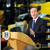 Prime Minister David Cameron Visit to JCB HQ Rocester