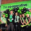 Opening of the new Co-op Food at Marsh Lane Erdington by The Lord Mayor of Birmingham Cllr Carl Rice and Store Manager Charlotte Henshaw.