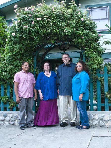 Dragonfly Team: Carlos, Emma, Glenda,  and Andy