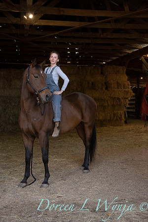 Girl and her horse_156