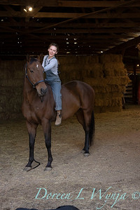 Girl and her horse_161