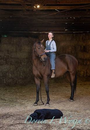 Girl and her horse_153