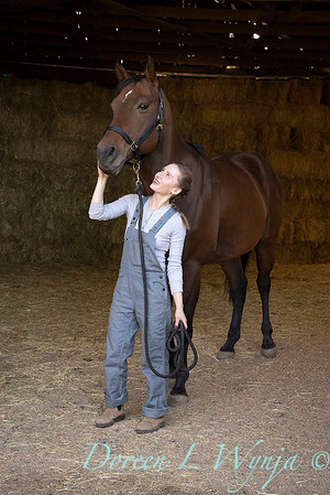 Girl and her horse_145