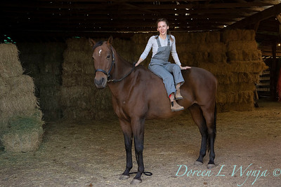 Girl and her horse_165