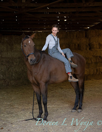 Girl and her horse_168