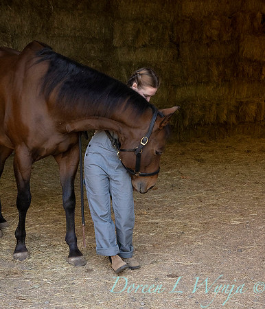 Girl and her horse_142