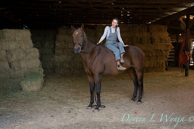 Girl and her horse_166