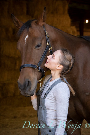 Girl and her horse_150