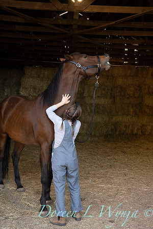 Girl and her horse_141