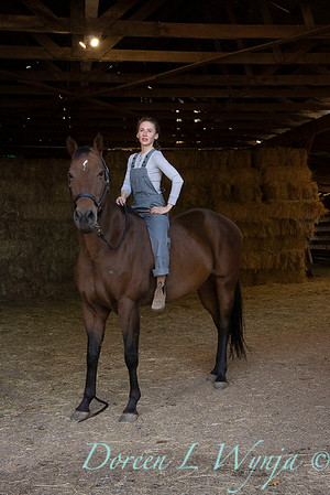 Girl and her horse_159