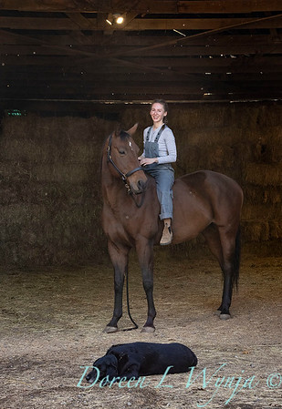 Girl and her horse_152