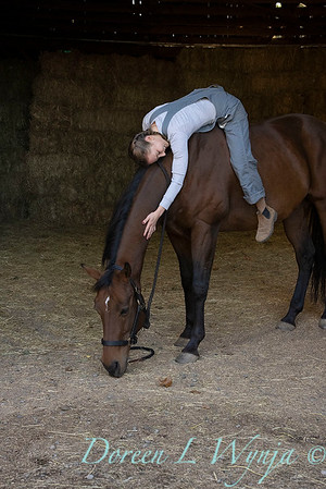 Girl and her horse_163