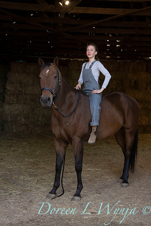 Girl and her horse_154