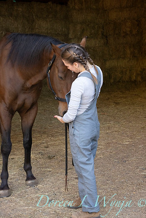 Girl and her horse_139