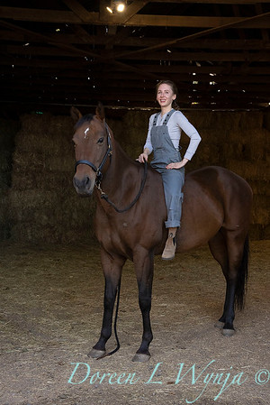 Girl and her horse_155