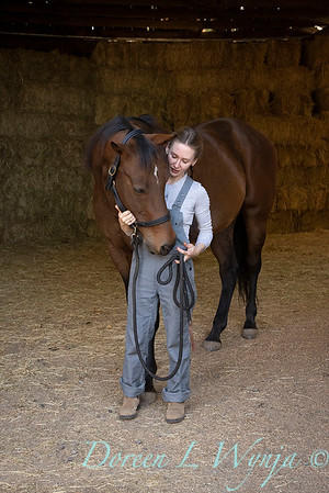 Girl and her horse_147