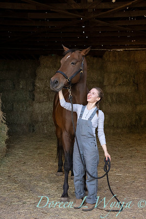Girl and her horse_144