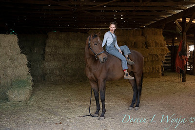 Girl and her horse_167