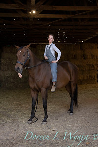 Girl and her horse_160