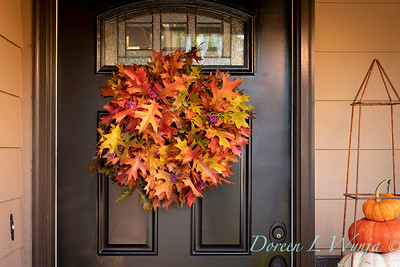 Fall wreath - front door_7384