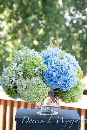Hydrangeas in a vase_2162