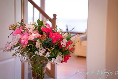 Rosa Knockout - Achillea millefolium - Hypericum arrangement_2140