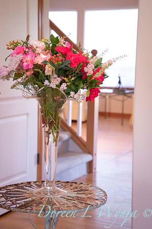 Rosa Knockout - Achillea millefolium - Hypericum arrangement_2141