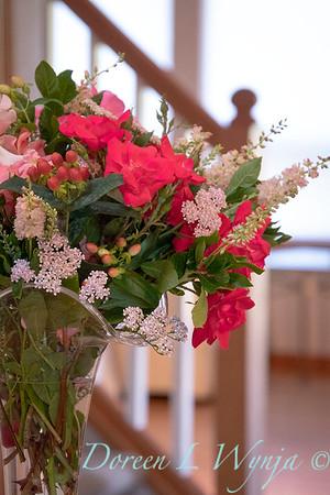 Rosa Knockout - Achillea millefolium - Hypericum arrangement_2142