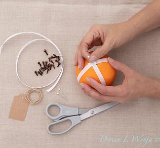 Clove and Orange holiday ball_890