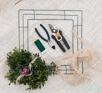 How to make a wreath_904