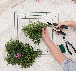 How to make a wreath_905