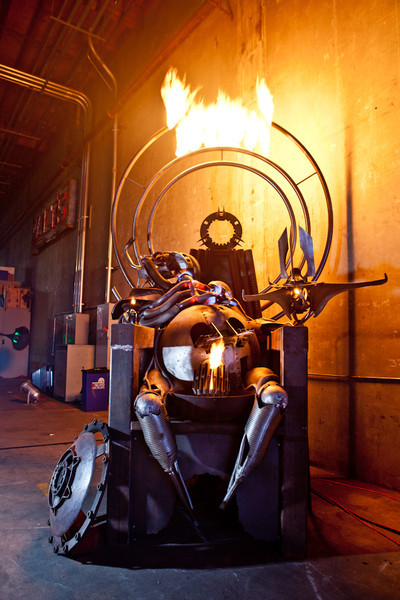 Shoot for Metal Fabricator/Artist Ryon Gesink
