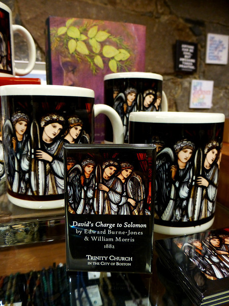 "Mugs and magnets depicting scene from David's Charge to Solomon.<br /> Purchase at The Book Shop at Trinity Church in Copley Square, Boston<br /> <a href=""https://www.facebook.com/TrinityBostonShop/"">https://www.facebook.com/TrinityBostonShop/</a>"